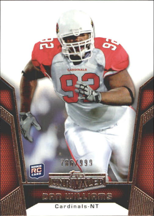 2010 Topps Unrivaled #109 Dan Williams RC