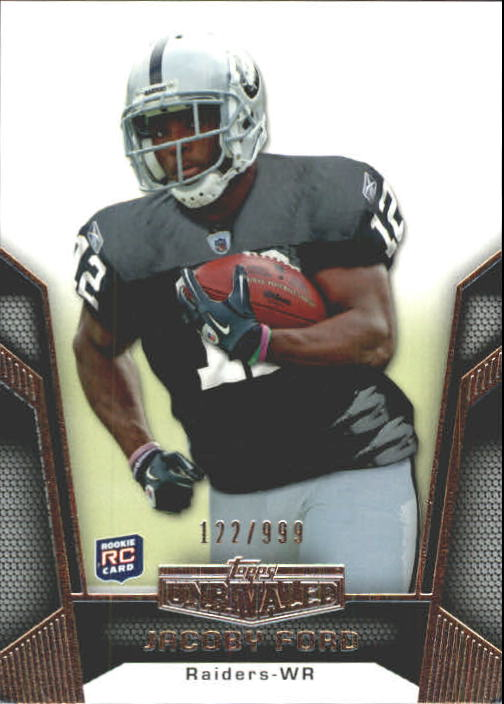 2010 Topps Unrivaled #114 Jacoby Ford RC