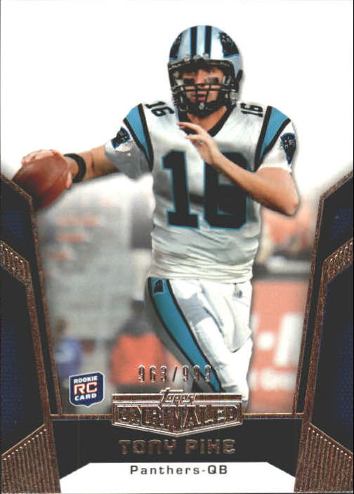 2010 Topps Unrivaled #117 Tony Pike RC