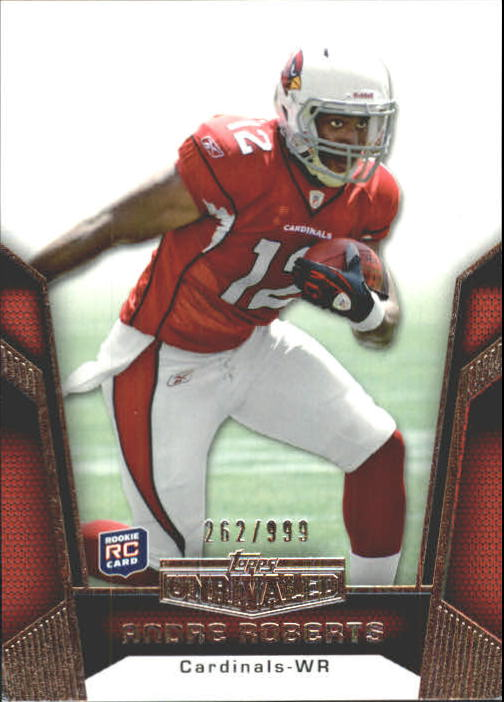 2010 Topps Unrivaled #121 Andre Roberts RC
