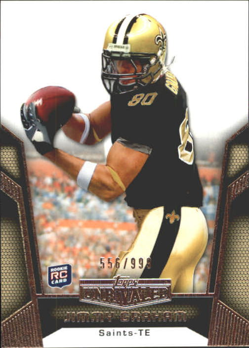 2010 Topps Unrivaled #123 Jimmy Graham RC