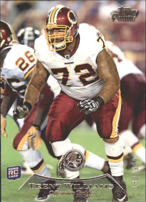 2010 Topps Prime #2 Trent Williams RC