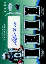 2010 Topps Prime Autographed Relics Level 5 #PL5AE Armanti Edwards/499