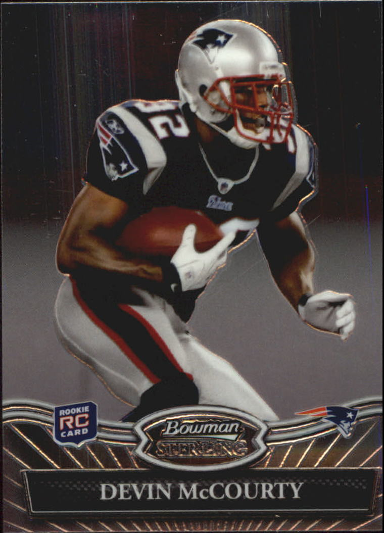 2010 Bowman Sterling #15 Devin McCourty RC