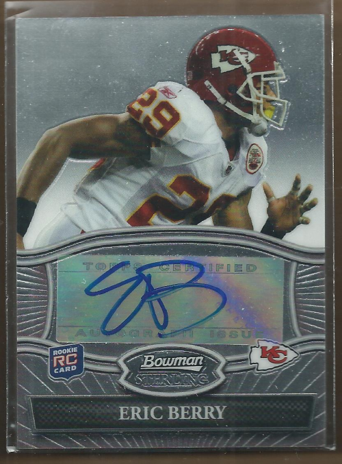 2010 Bowman Sterling #BSAEB Eric Berry AU C