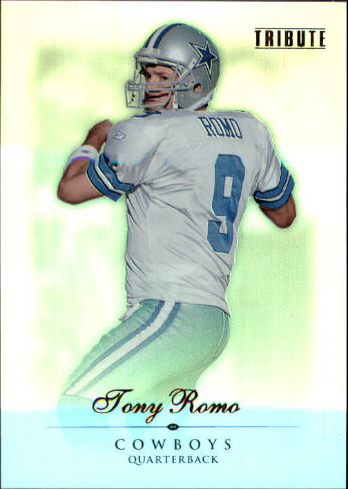 2010 Topps Tribute #4 Tony Romo