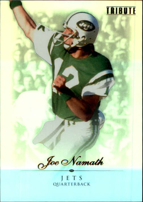 2010 Topps Tribute #6 Joe Namath
