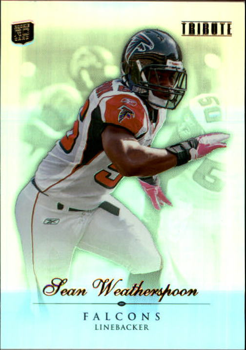 2010 Topps Tribute #9 Sean Weatherspoon RC