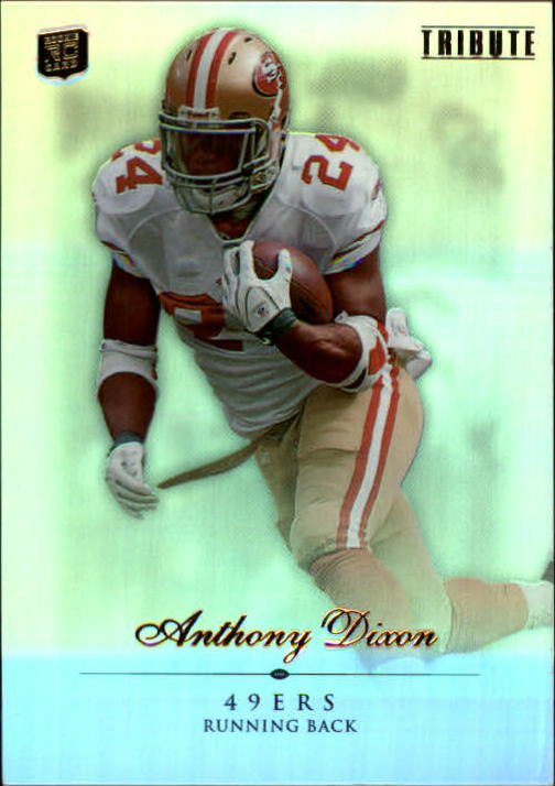 2010 Topps Tribute #21 Anthony Dixon RC