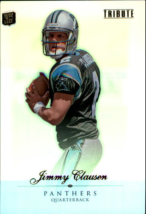 2010 Topps Tribute #31 Jimmy Clausen RC