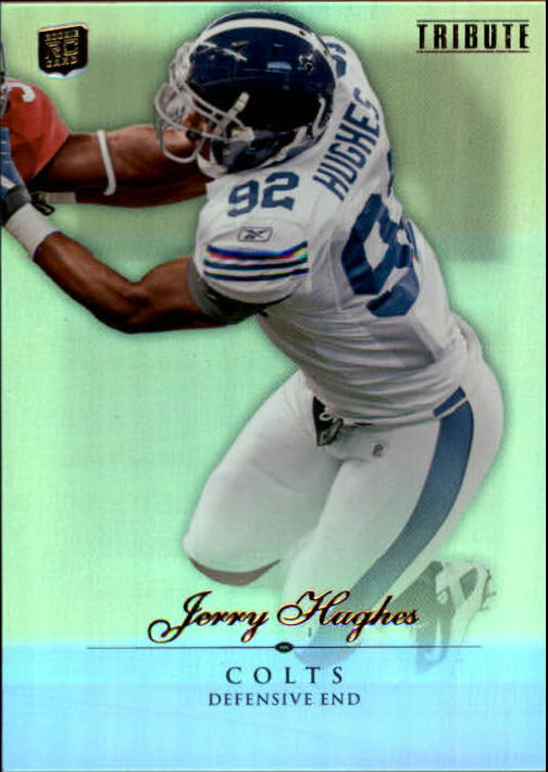 2010 Topps Tribute #37 Jerry Hughes RC