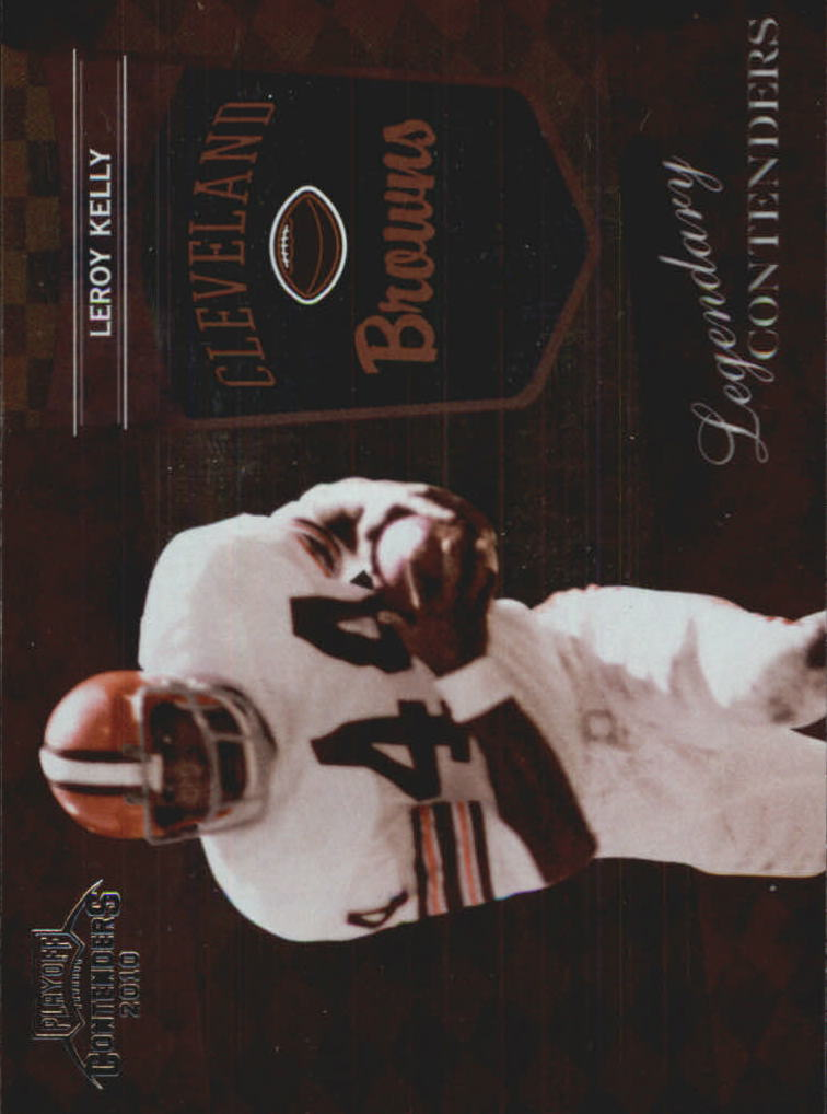 2010 Playoff Contenders Legendary Contenders #21 Leroy Kelly