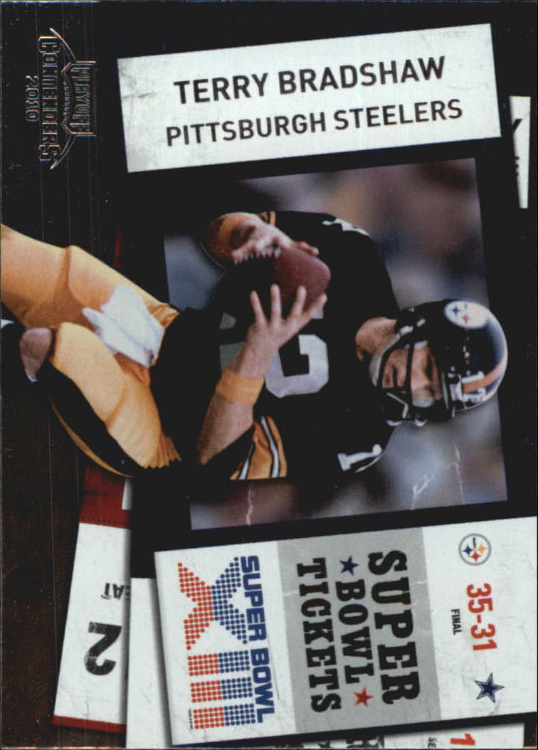 2010 Playoff Contenders Super Bowl Ticket #32 Terry Bradshaw