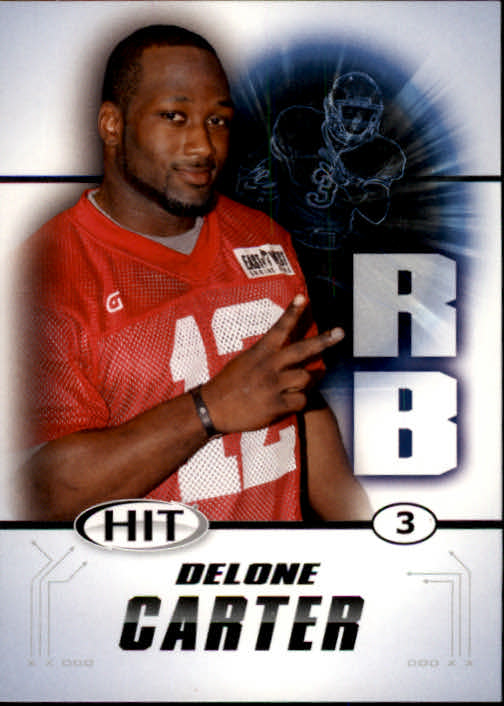 2011 SAGE HIT #2 Delone Carter