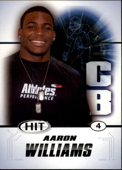 2011 SAGE HIT #4 Aaron Williams