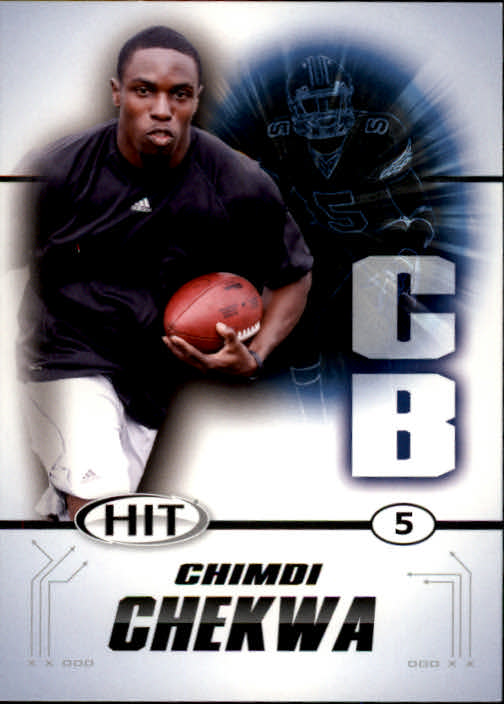 2011 SAGE HIT #5 Chimdi Chekwa