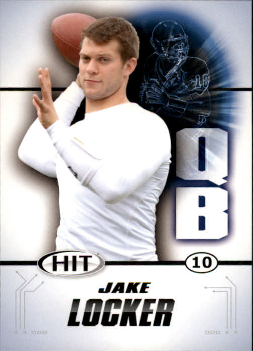 2011 SAGE HIT #10 Jake Locker