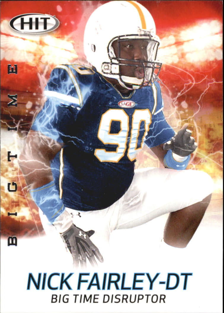2011 SAGE HIT Big Time #B17 Nick Fairley