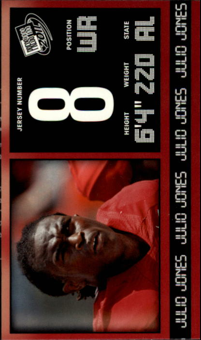 2011 Press Pass #3 Julio Jones
