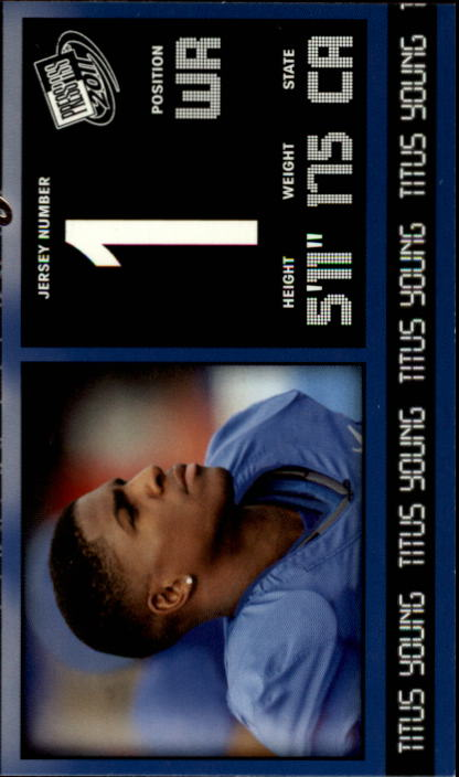 2011 Press Pass #13 Titus Young
