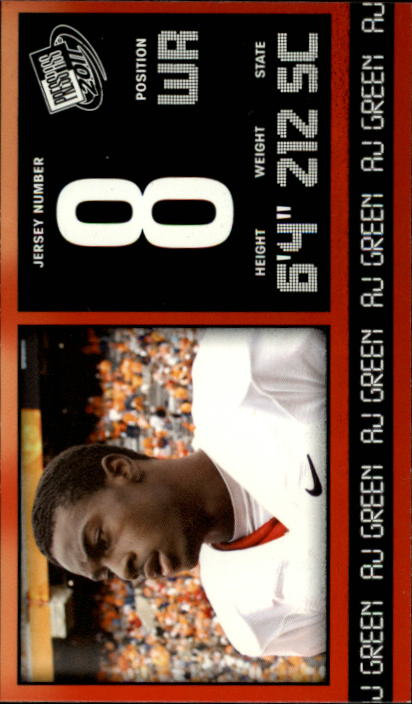 2011 Press Pass #15 A.J. Green