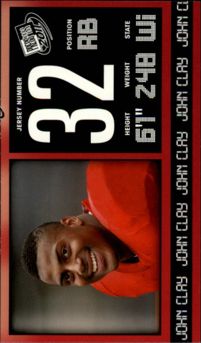 2011 Press Pass #43 John Clay
