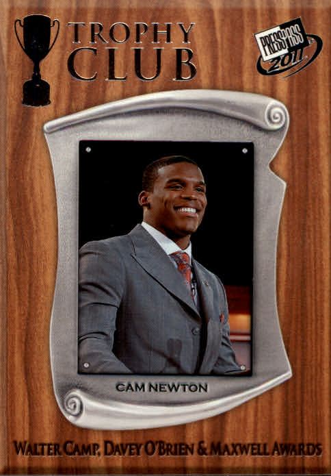 2011 Press Pass #54 Cam Newton TC