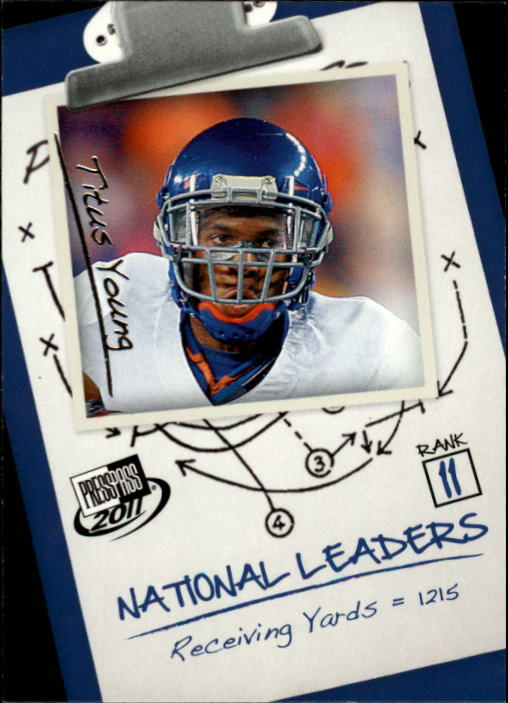 2011 Press Pass #70 Titus Young NL