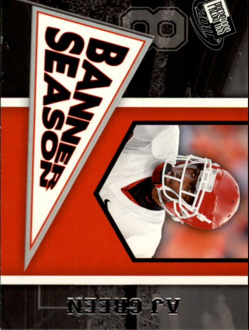 2011 Press Pass #82 A.J. Green BS