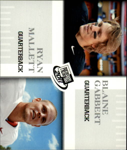 2011 Press Pass #93 Blaine Gabbert GC/Ryan Mallett