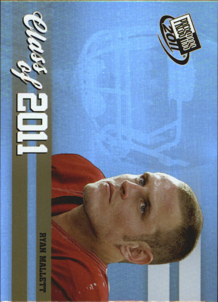 2011 Press Pass Class of 2011 #CL3 Ryan Mallett
