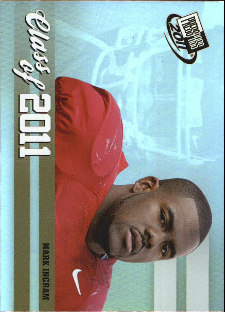 2011 Press Pass Class of 2011 #CL10 Mark Ingram
