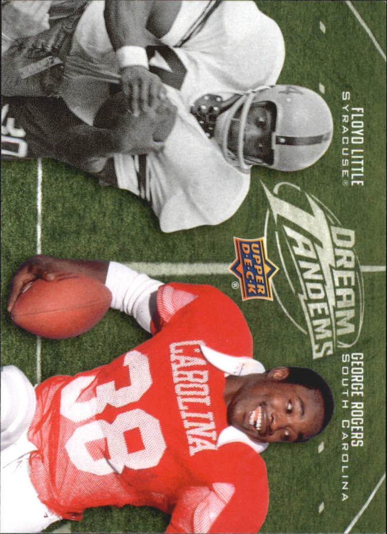 2011 Upper Deck Dream Tandems #DT12 George Rogers/Floyd Little