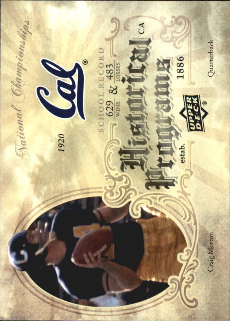 2011 Upper Deck Historical Programs #HP8 Craig Morton