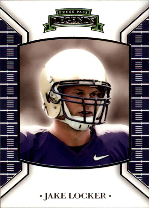 2011 Press Pass Legends #4 Jake Locker