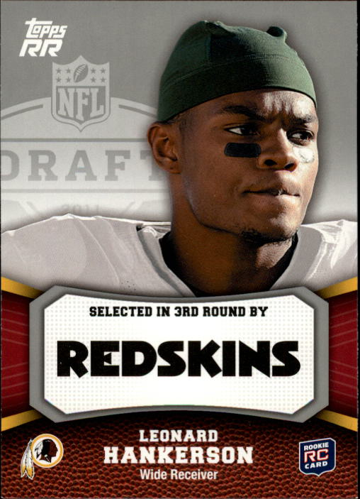 2011 Topps Rising Rookies #155 Leonard Hankerson RC