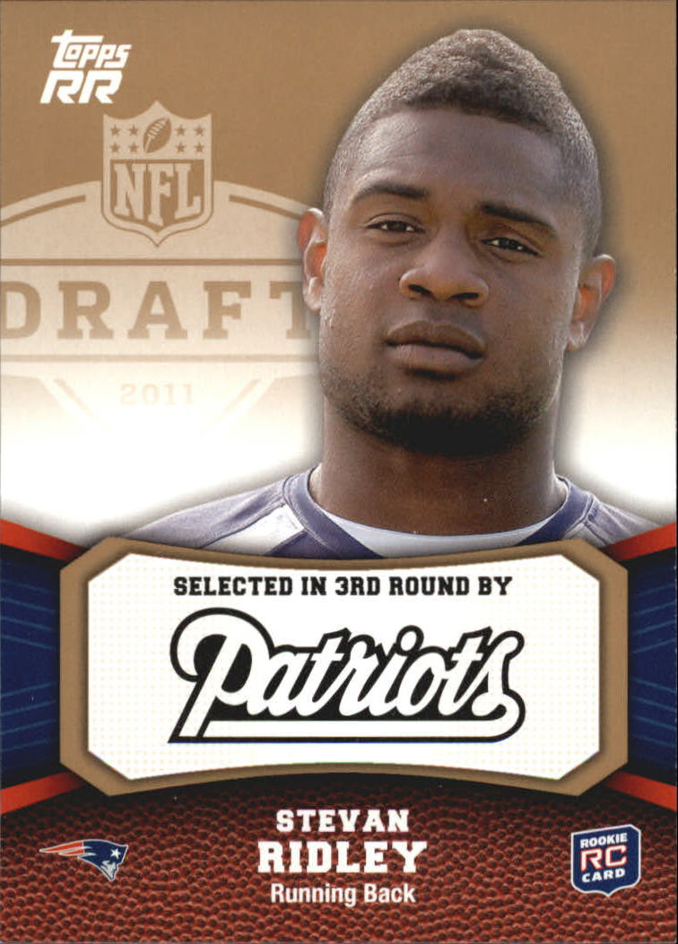 2011 Topps Rising Rookies Gold #133 Stevan Ridley