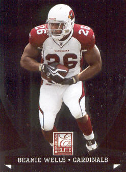 2011 Donruss Elite #1 Chris Wells
