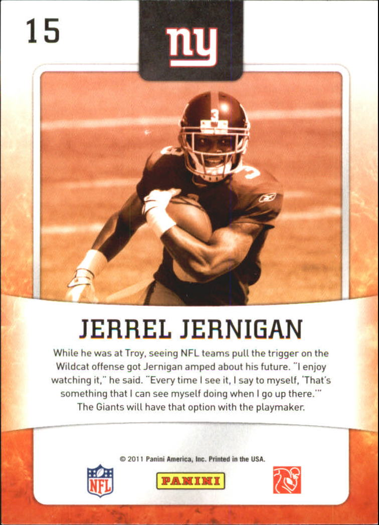 2011 Score Hot Rookies #15 Jerrel Jernigan back image