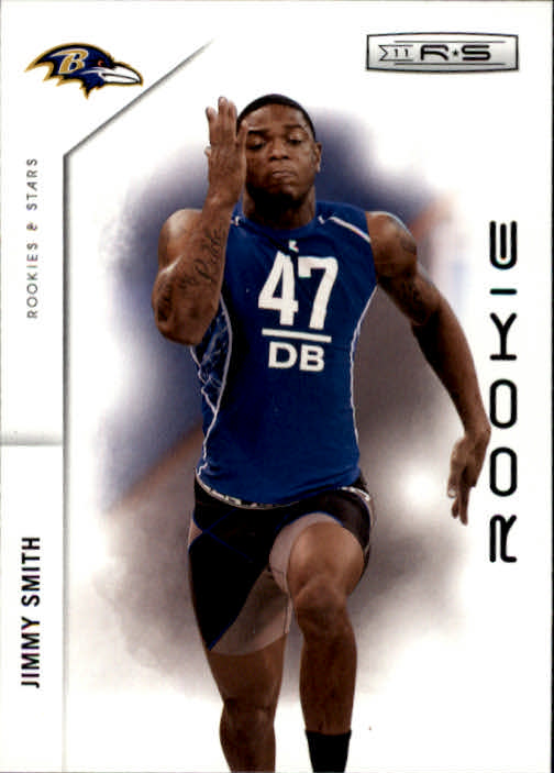 2011 Rookies and Stars #199 Jimmy Smith RC