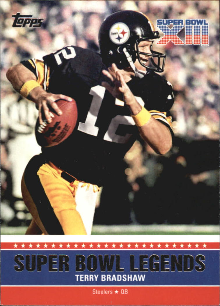 2011 Topps Super Bowl Legends #SBLXIII Terry Bradshaw