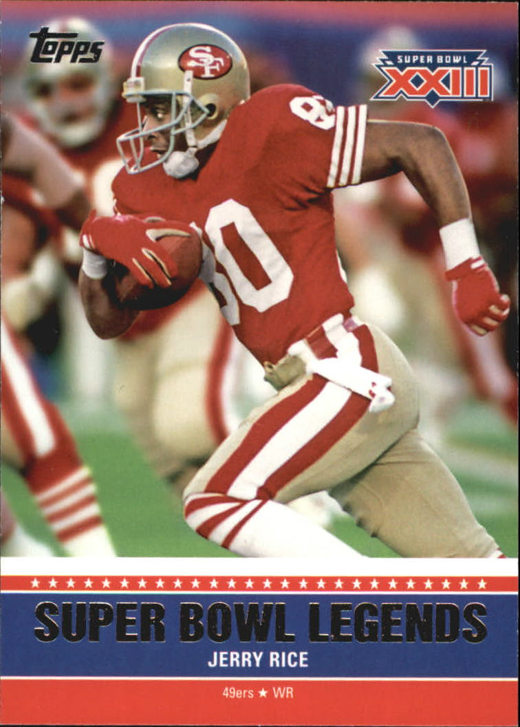 2011 Topps Super Bowl Legends #SBLXXIII Jerry Rice