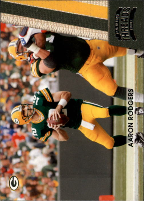 2011 Panini Threads #53 Aaron Rodgers
