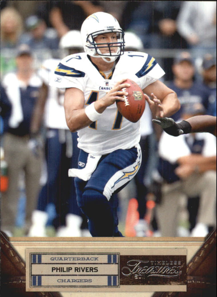 2011 Timeless Treasures #79 Philip Rivers