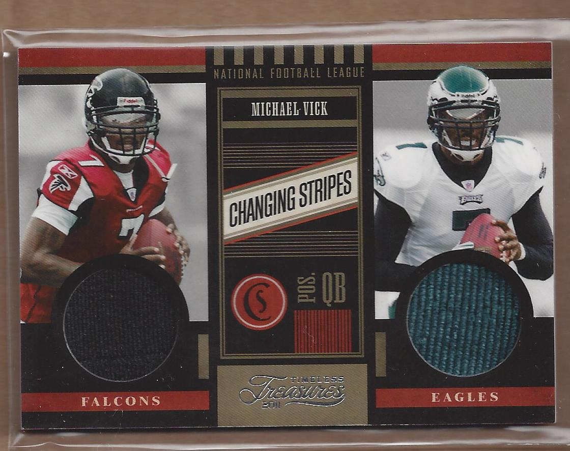 2011 Timeless Treasures Changing Stripes #21 Michael Vick/249