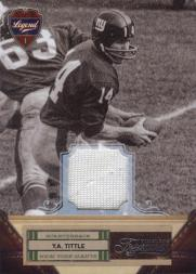 2011 Timeless Treasures Jerseys #125 Y.A. Tittle/99