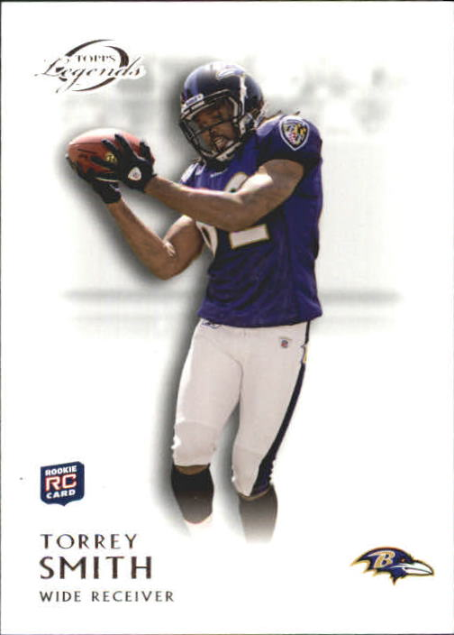 2011 Topps Legends #38 Torrey Smith RC