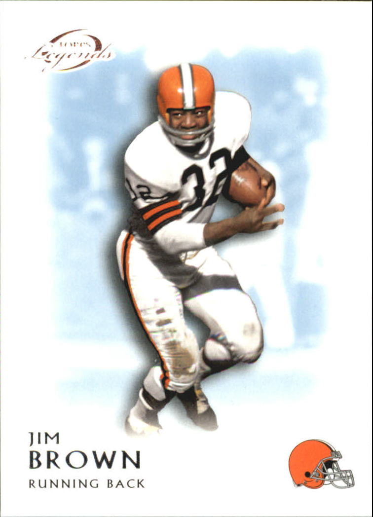 2011 Topps Legends Blue #80 Jim Brown