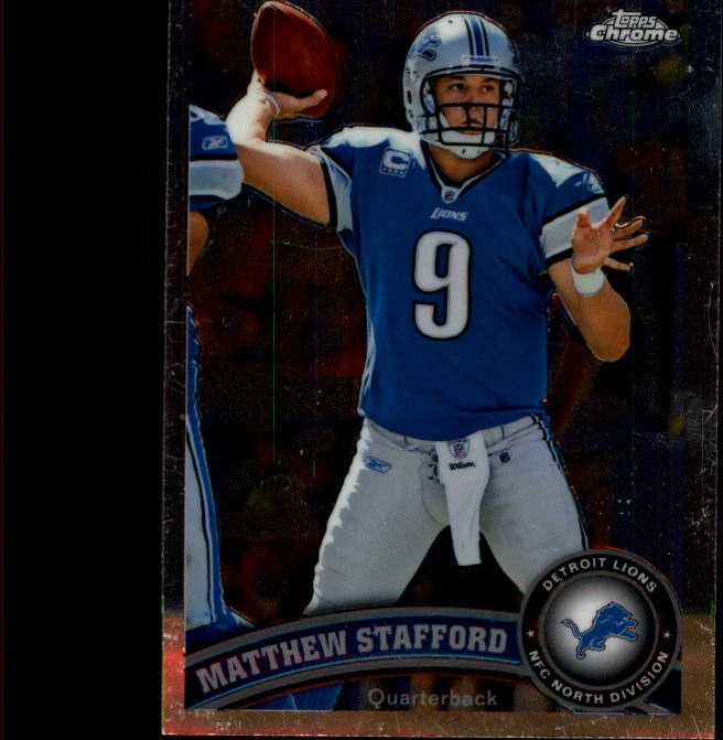 2011 Topps Chrome #4 Matthew Stafford