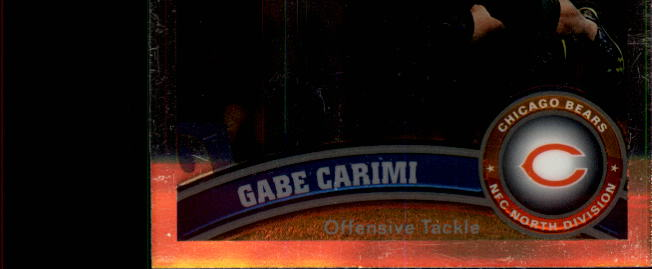 2011 Topps Chrome #5 Gabe Carimi RC